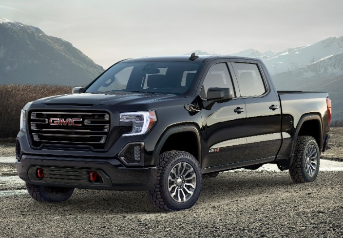 GM unveils the AT4 off-road package for the 2019 GMC Sierra