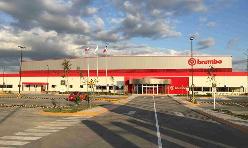 Brembo inaugurates plant in Nuevo Leon, announces new US$ 95