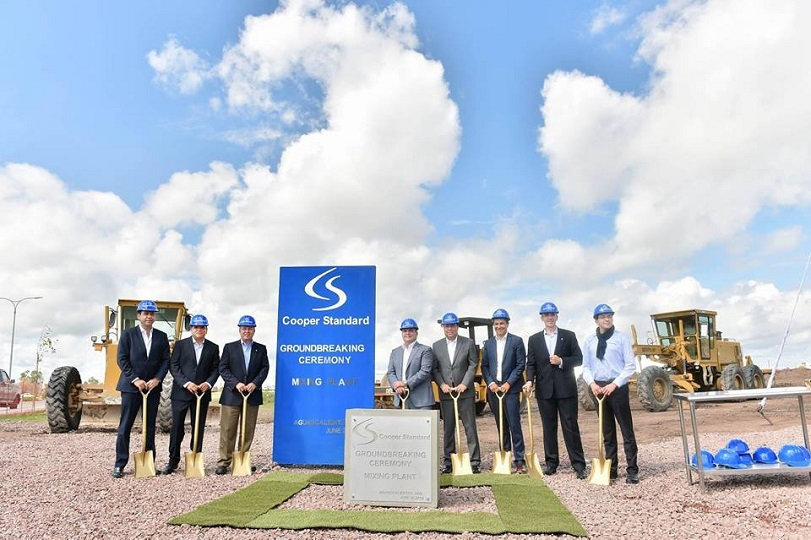 Michigan-based manufacturer Cooper Standard builds US$ 11 million plant in Aguascalientes & Michigan-based manufacturer Cooper Standard builds US$ 11 million ...