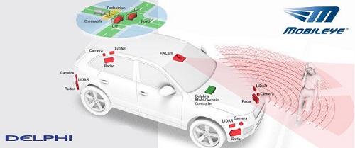 Delphi partners with Mobileye to develop autonomous car