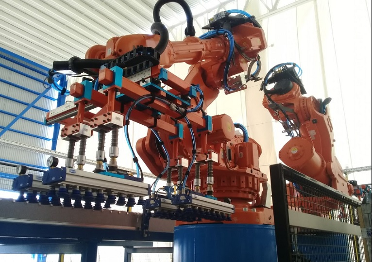 North American industries ordered a record number of robots