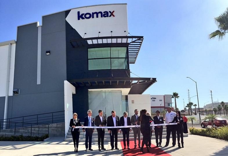 swiss manufacturer komax opens us  8 5 million plant in guanajuato