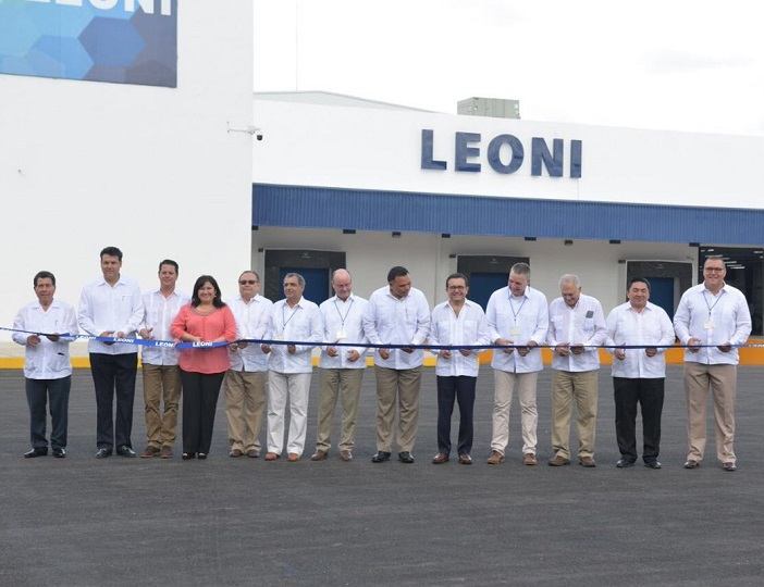 germany based manufacturer leoni opens wiring systems plant in yucatan rh mexico now com leoni wiring systems tucson az leoni wiring systems inc