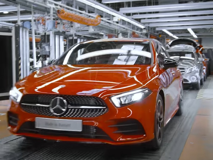 Production of Mercedes-Benz A Class started in Mexico ...