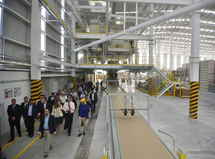 Drywall manufacturer Panel Rey opens US$ 52 million plant in