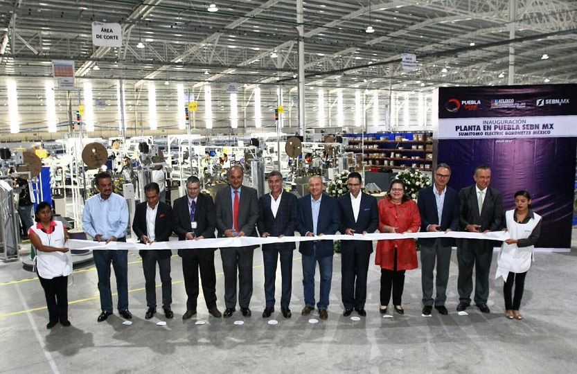 Sumitomo Electric Bordnetze opens US 17 million plant in Puebla