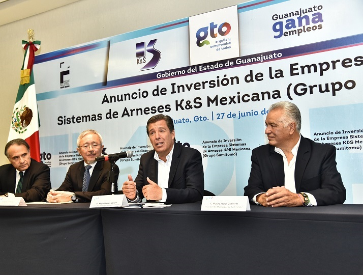 Sumitomo Electric Wiring Systems builds in Guanajuato its sixth