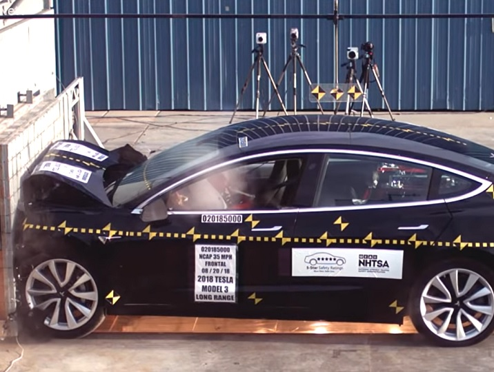 Tesla Model 3 scores perfect 5-star safety rating from the ...