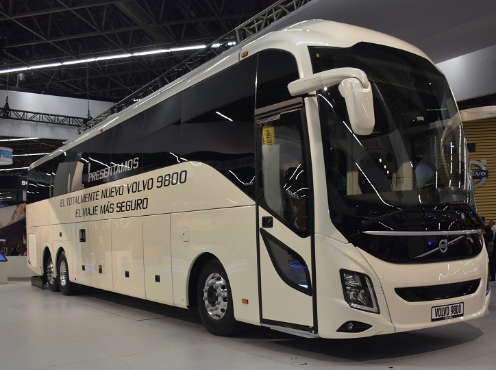 Volvo Buses To Increase Coaches Exports From Mexico To The Us