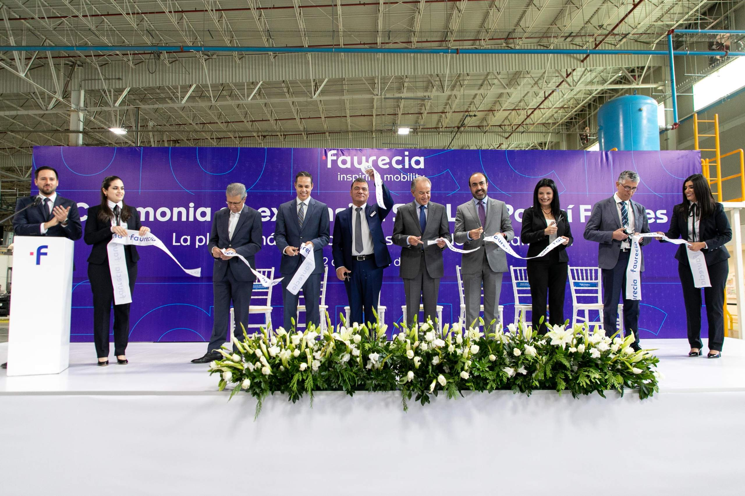 Faurecia invests US$12 million in San Luis Potosi
