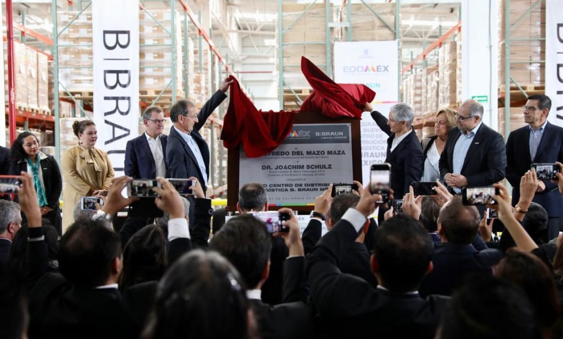Logistics and distribution center was inaugurated in the State of México
