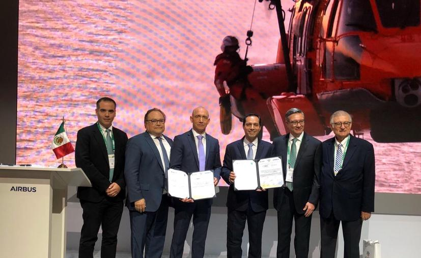 Yucatán and Airbus just signed cooperation agreement