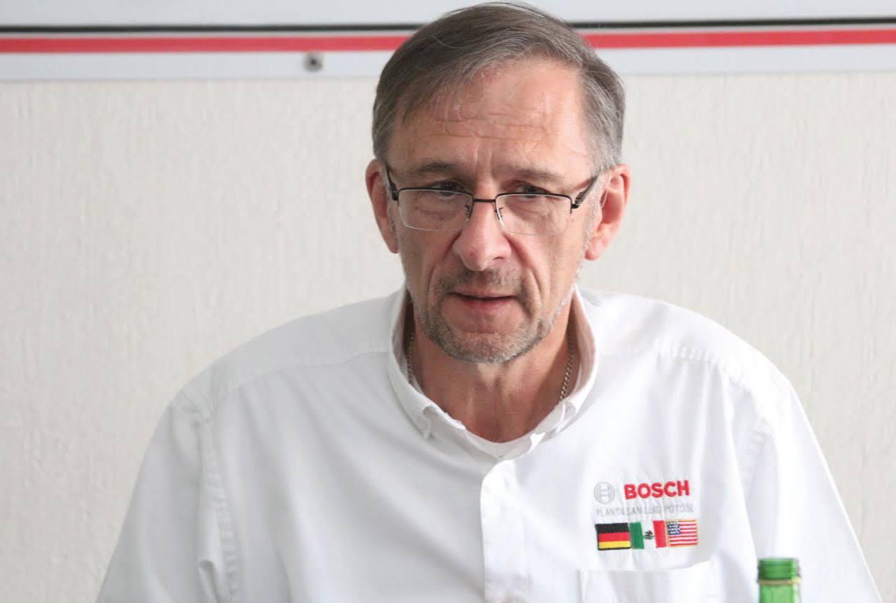Gunter Daut assumes the presidency of the San Luis Potosí's Automotive Cluster