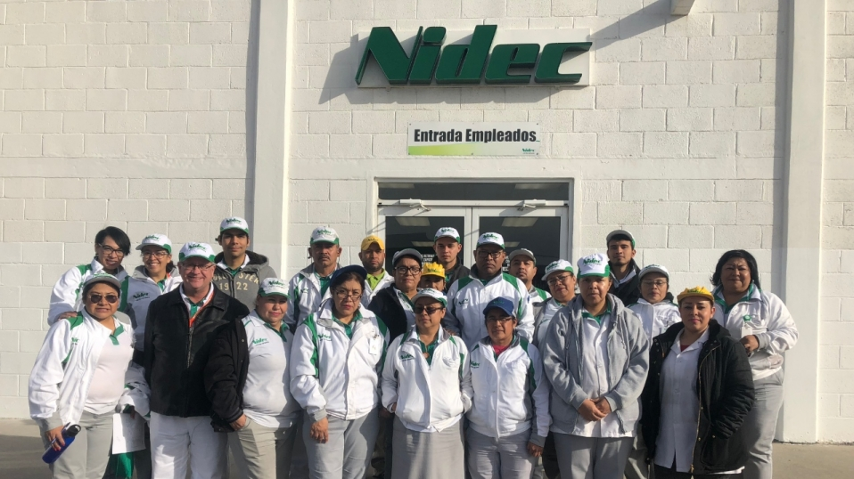 Nidec to invest US$450 million in Mexico
