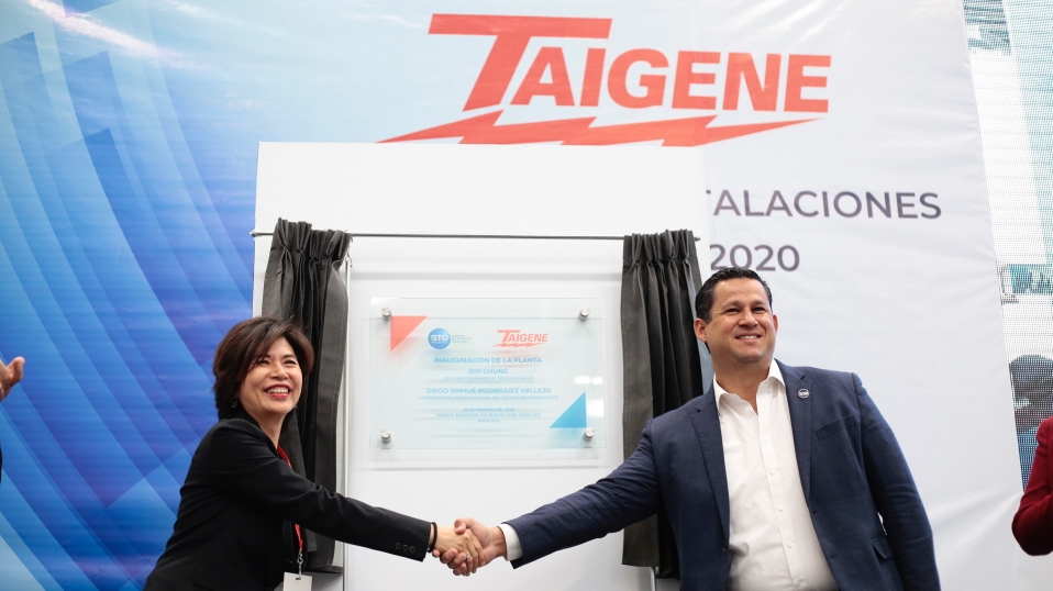 Taigene Group invests US$45.7 million in Guanajuato