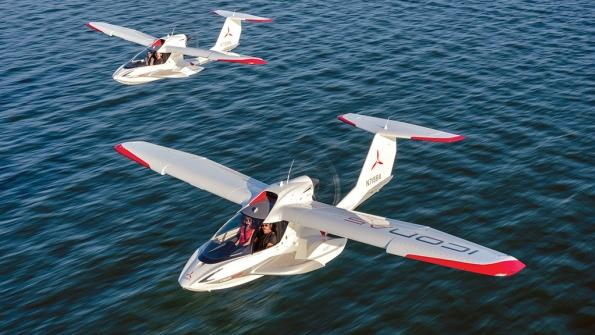 Texans are attracted to ICON Aircraft