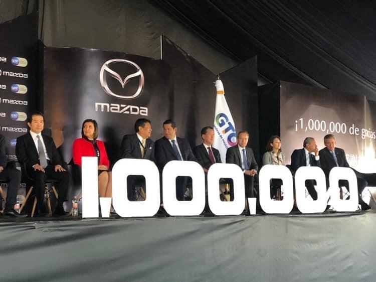 Mazda in Guanajuato reached 1 million-unit production