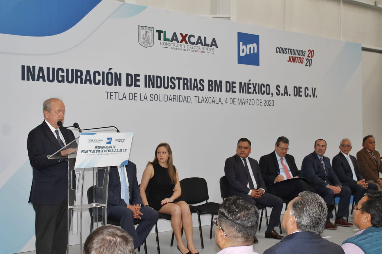 BM de Mexico invests US$10 million in Tlaxcala