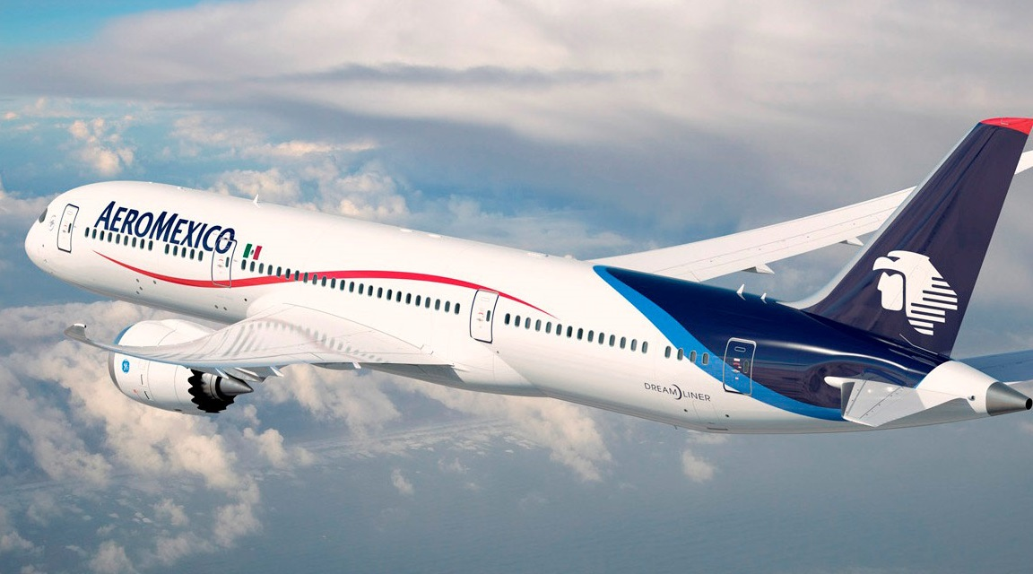 Aeroméxico flies to Israel for the first time