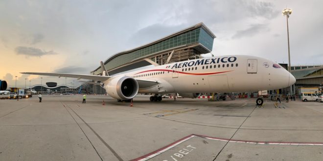 Aeroméxico sets new record and operates the longest flight in the history of Mexican aviation