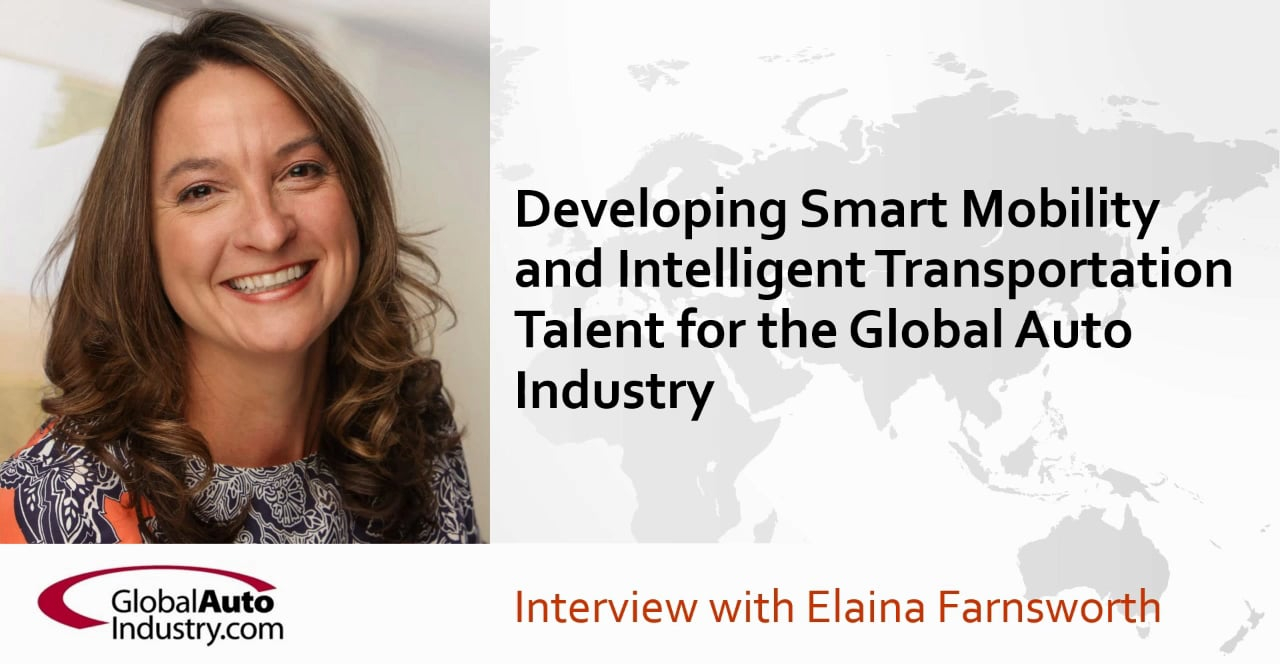 Developing Smart Mobility and Intelligent Transportation Talent for the Global Automotive Industry