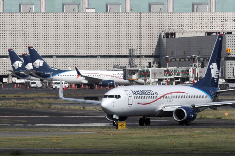 Aeroméxico would modify the lease of ¾ of its fleet