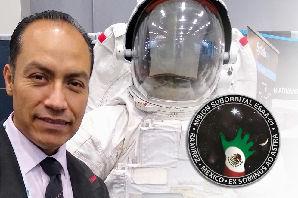 Mexican academic will participate in the first Latin-American space mission