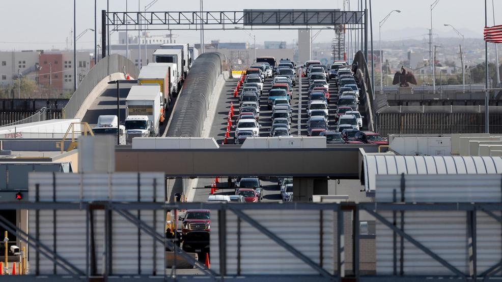 Border crossing closed for repairs