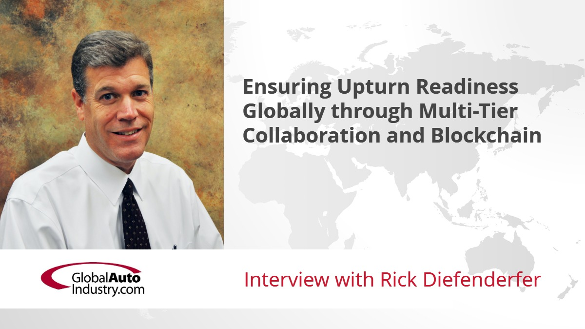Ensuring Upturn Readiness Globally through Multi-Tier Collaboration and Blockchain