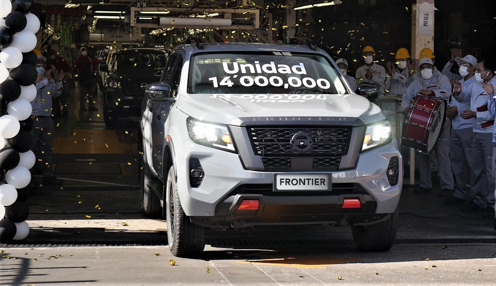 Nissan celebrates the production of 14 million units in Mexico