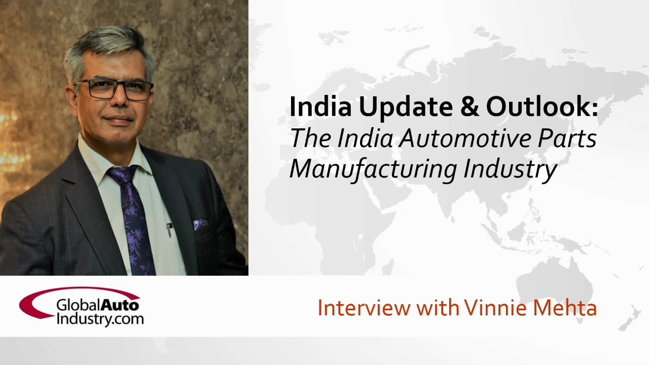 Update & Outlook: The India Auto Parts Manufacturing Industry