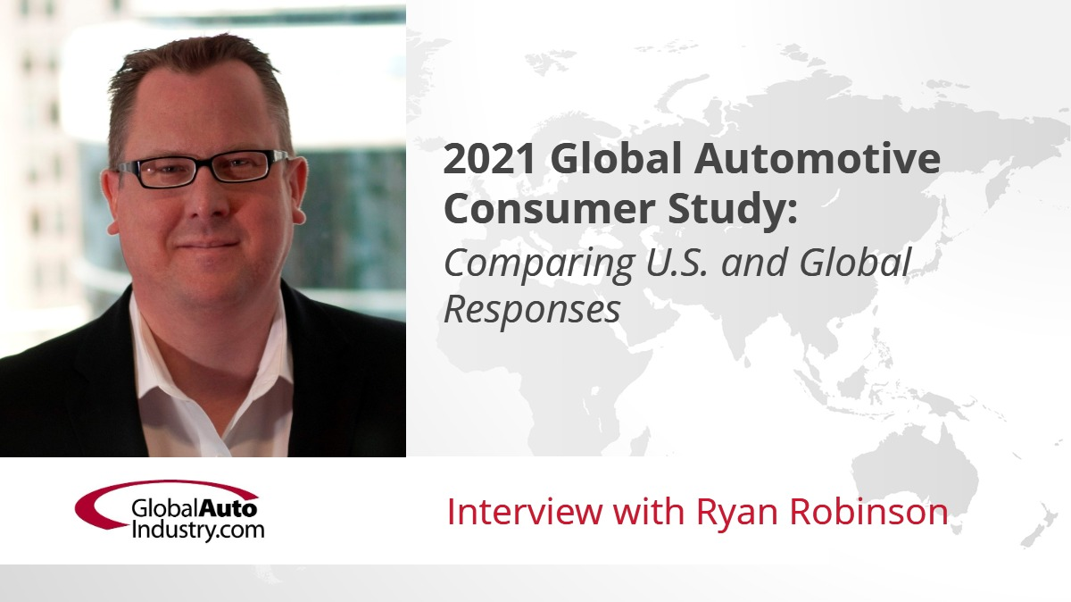 2021 Global Automotive Consumer Study: Comparing U.S. and Global Responses