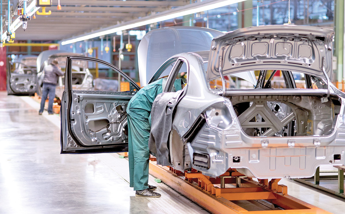 Increase in vehicle sales in the U.S. benefits Mexico