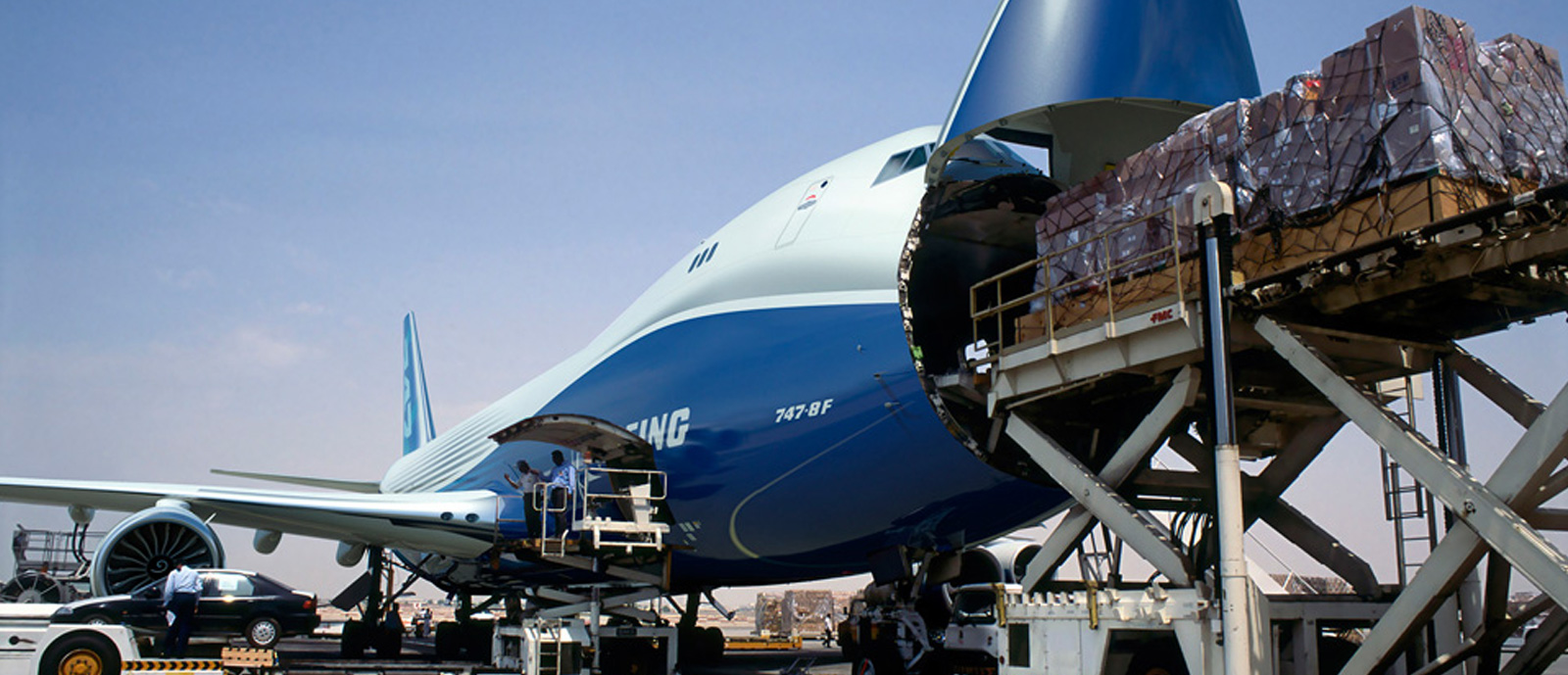 Mexico's air cargo fell 13.4% in 2020