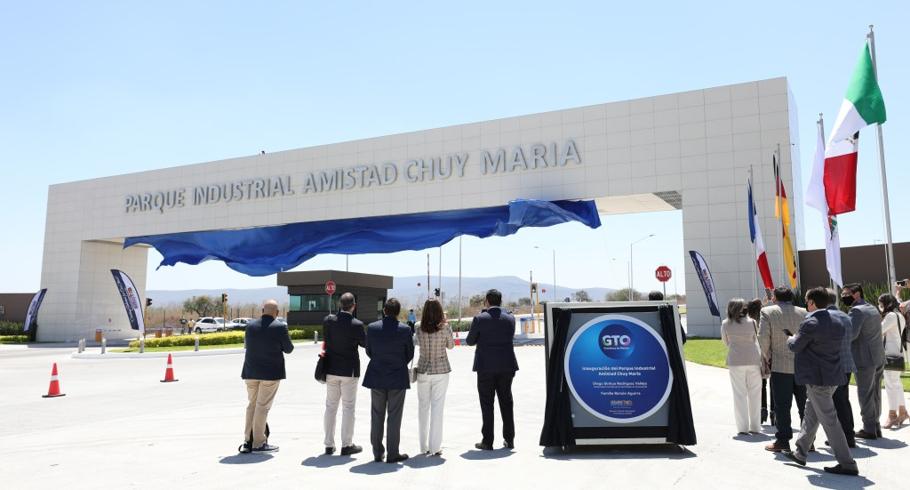 With a US$58 million investment the Amistad Chuy María Industrial Park was inaugurated