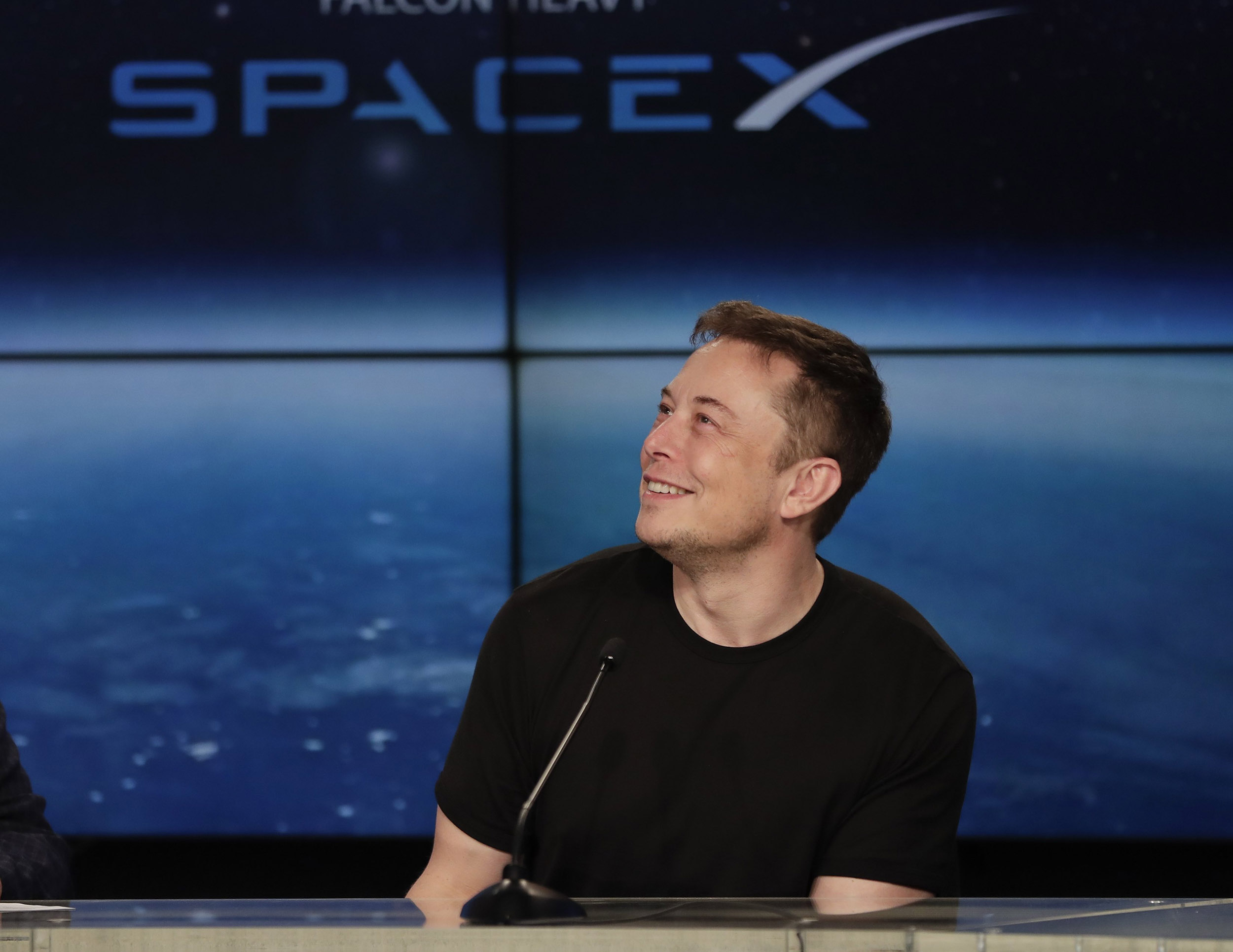 SpaceX looks forward to settling in the Gulf of Mexico