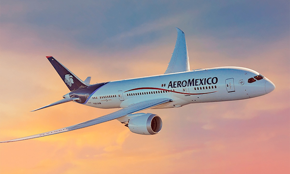 Aeromexico transports more than one million passengers