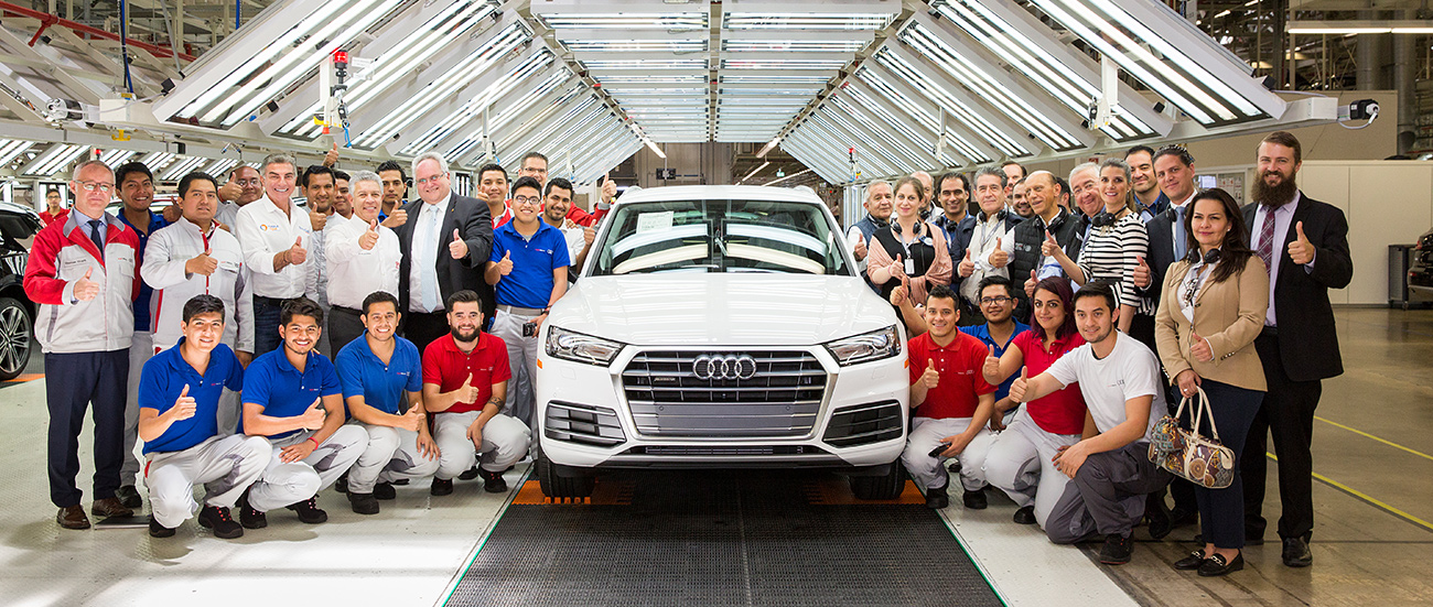 Audi Mexico is recognized as Socially Responsible Company