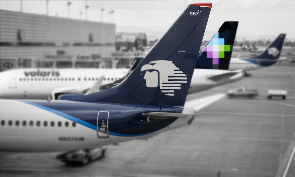 Mexico's commercial air fleet adds 267 aircraft in the first quarter of the year