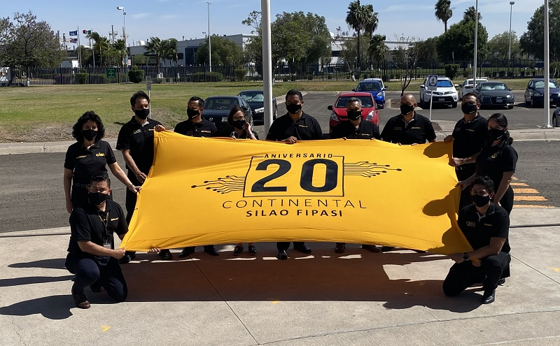 Continental celebrates 20 years in Silao