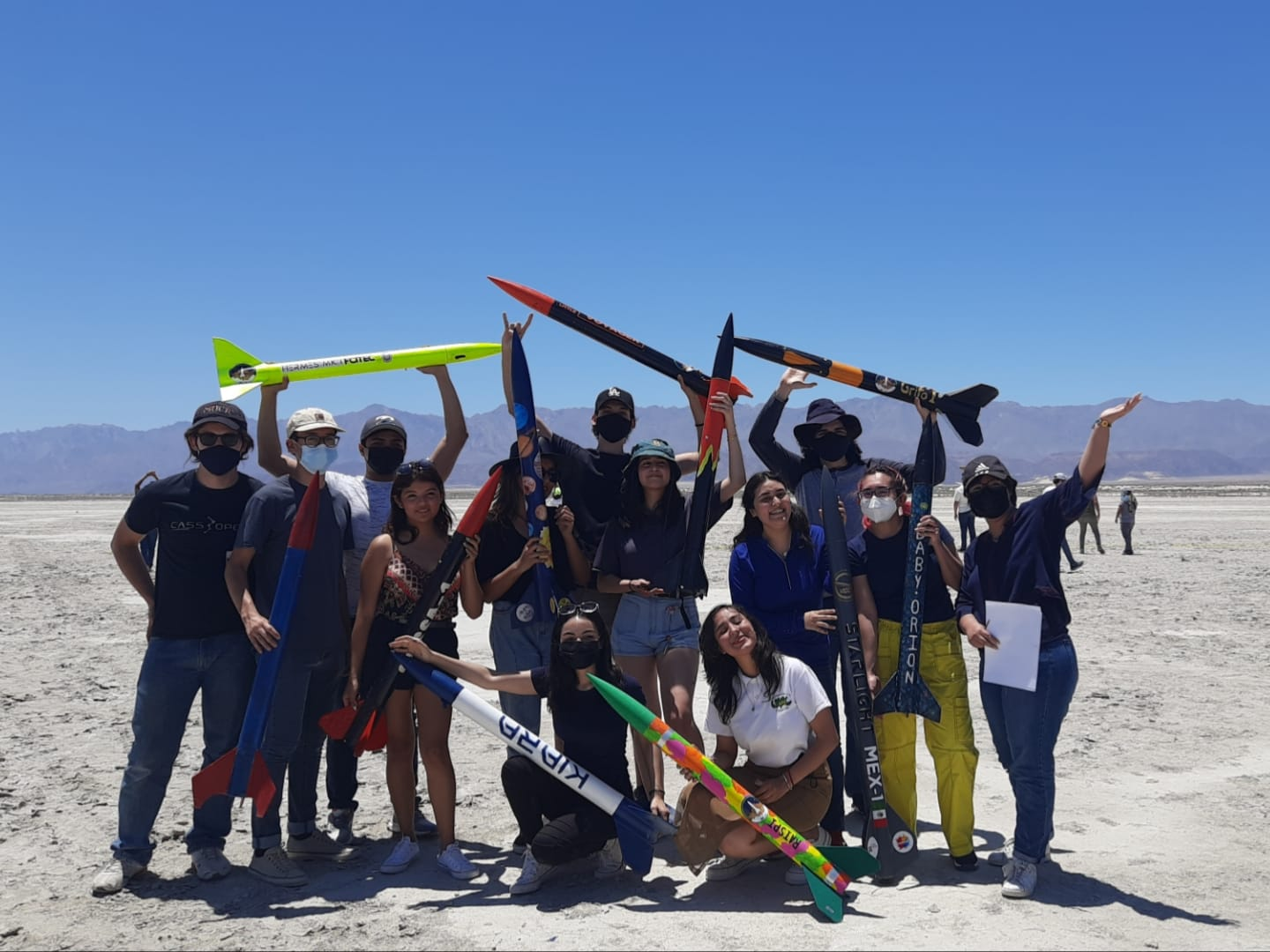 First Mexican Meeting of Experimental Rocketry Engineering is held in BC