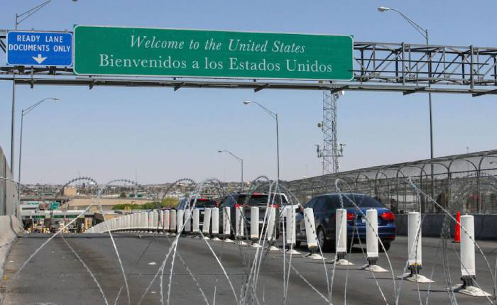 Northern border could reopen after vaccination