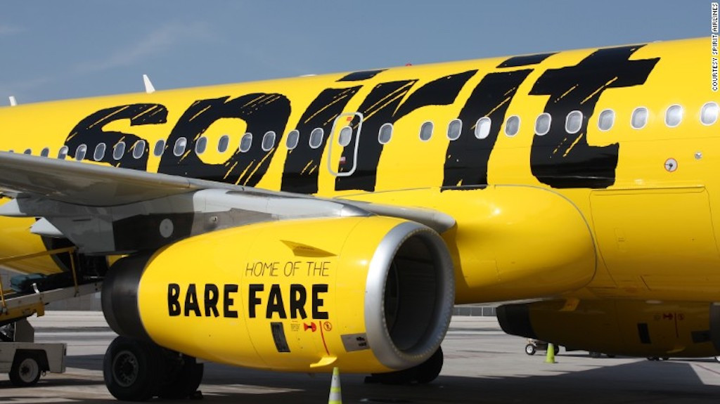 Spirit Airlines to expand flights between Mexico and the U.S.