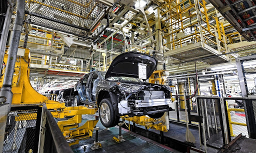 Northeast manufacturing production grew by 12.3%