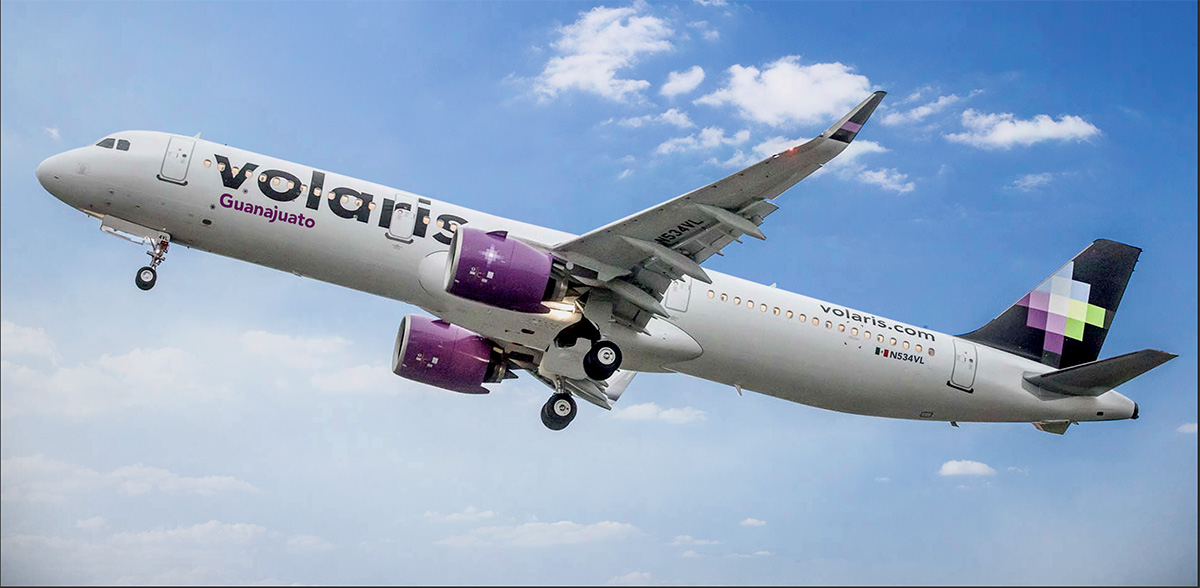 Volaris increases passenger capacity during June