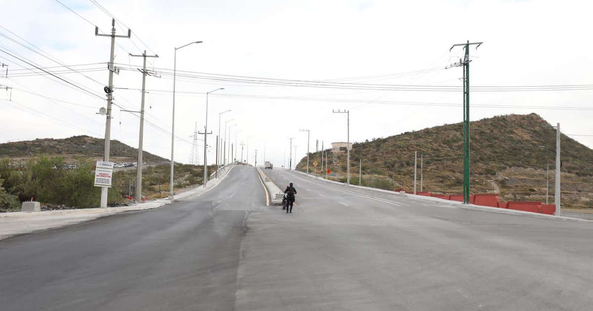 Roadway between Saltillo and Ramos Arizpe is expanded